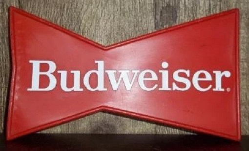 Budweiser Styled Ice Scraper for car windows
