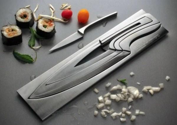 ProPassione Déglon knives block