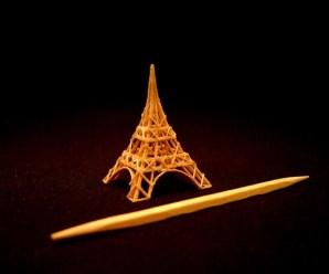 Top 10 Amazing Miniature Toothpick Sculptures