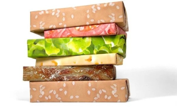 Burger Gift Wrapping Paper