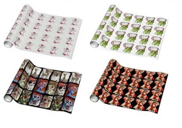 Zombie Gift Wrapping Paper