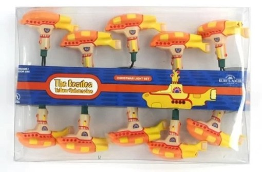 The Beatles: Yellow Submarine Christmas String Lights