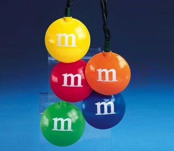 M & M's Christmas String Lights