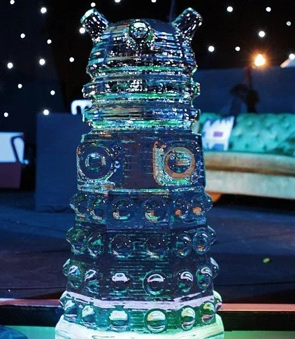 Dalek Inspired Ice Sculpture
