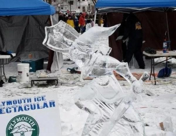 Zelda Inspired Ice Sculpture