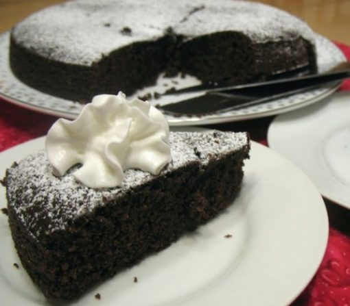 Mulled Wine Chocolate Cake