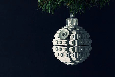 Death Star Inspired Christmas Tree Bauble