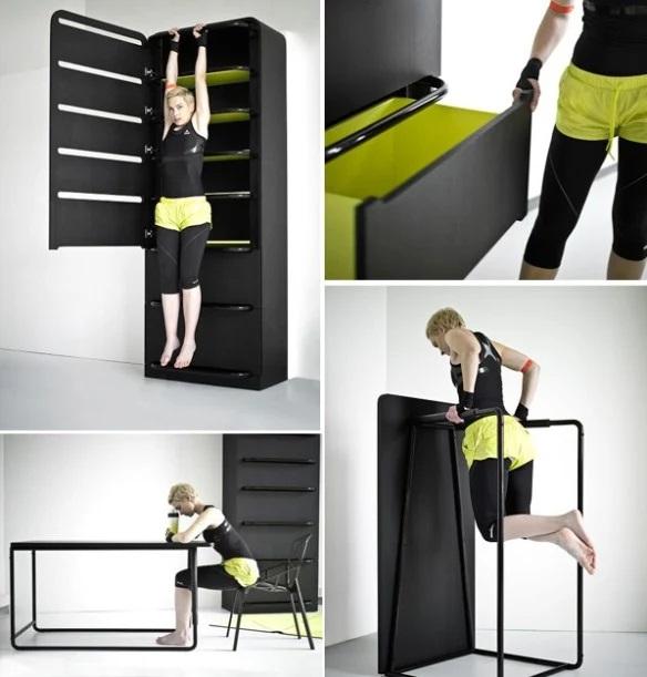 Top 10 unusual and futuristic exercise equipment - Exercise equipment small spaces decoration ...