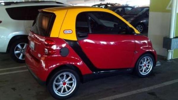 Smart Car Inspired by Little Tikes