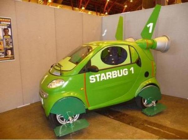 Smart Car Inspired by Red Dwarf