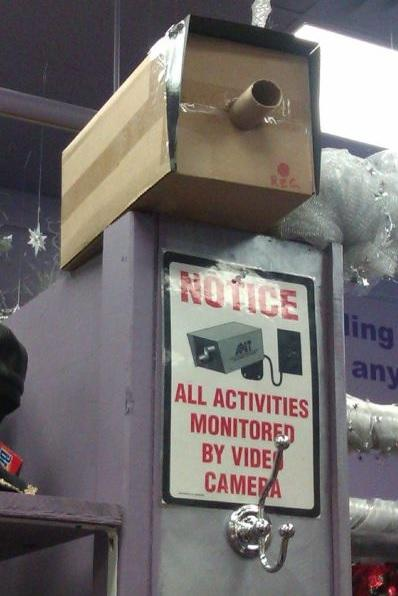 CCTV Fail