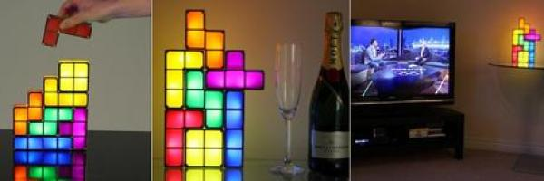 Tetris Themed Lights