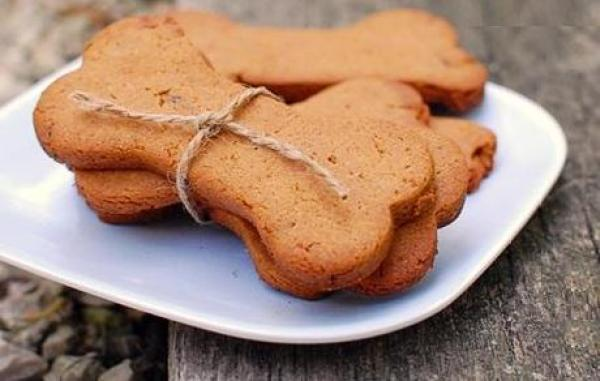 Peanut Butter & Bacon Homemade Dog Treats