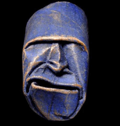 Junior Fritz Jacquet - Toilet Roll Mask Sculpture