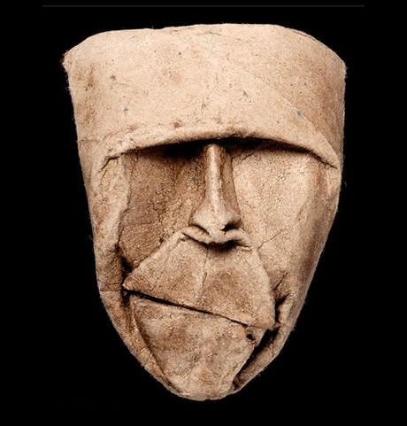 Junior Fritz Jacquet - Toilet Roll Mask Sculpture