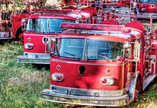 Graveyard of Fire Trucks