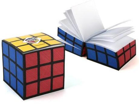 Rubik's Cube Inspired Notepad