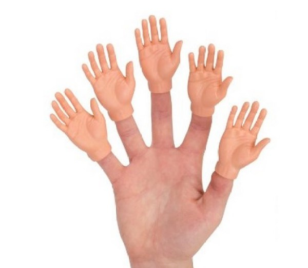 Turn Fingers Into Hands