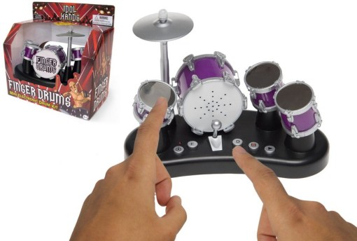 Turn Fingers Into a Drummer