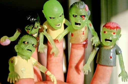Turn Fingers Into Zombies