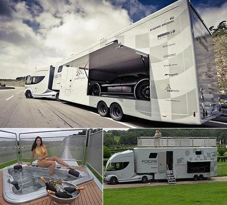 The million dollar motorhome