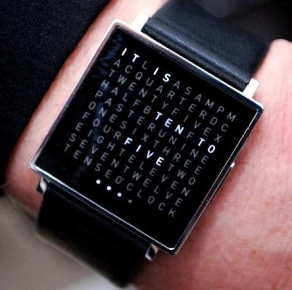 Wordhunt Inspired Watch