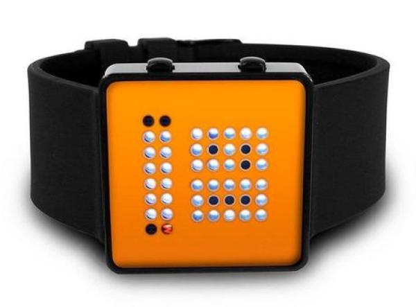 Binary Inspired Watch