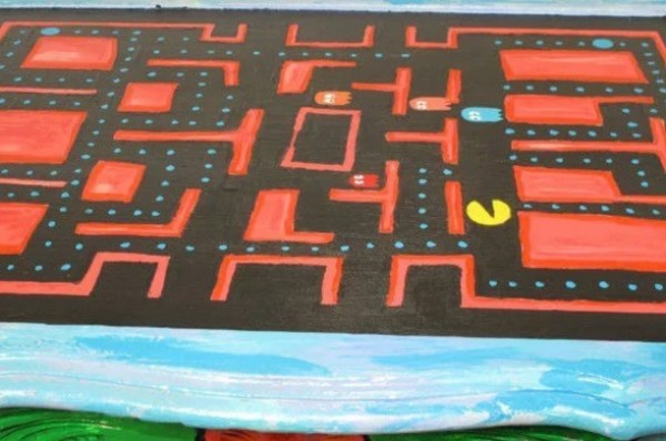 PacMan inspired coffee table