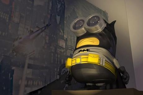 Minions Redesigned as Batman