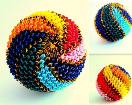 3D Effect Temari Ball