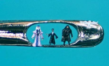 Miniature Sculpture: Harry Potter