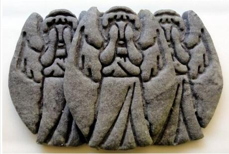 Weeping Angel cookies