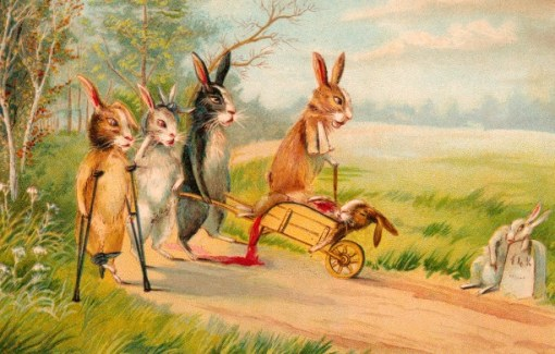 Weird and Vintage Easter Cards