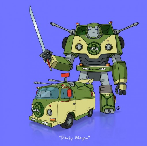 Top 10 Images of Famous Transforming Vehicles