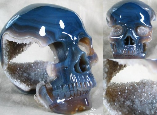 Top 10 Creepy but Awesome Geode Skulls