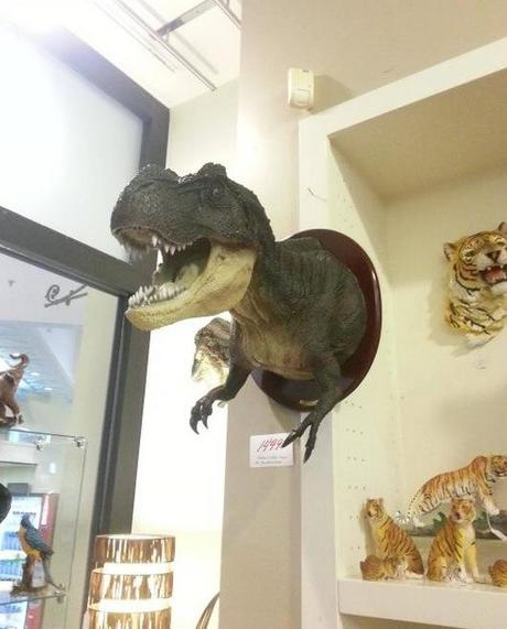 Wall Mounted T-Rex