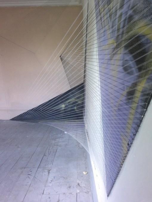 Geometric 3D Thread Art