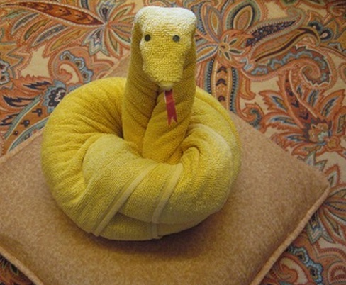 Top 10 Best Examples of Towel Art Animals