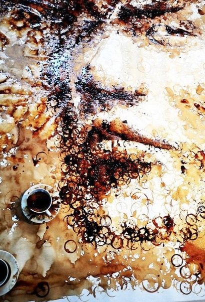 Top 10 Best Art Made with Coffee Cups