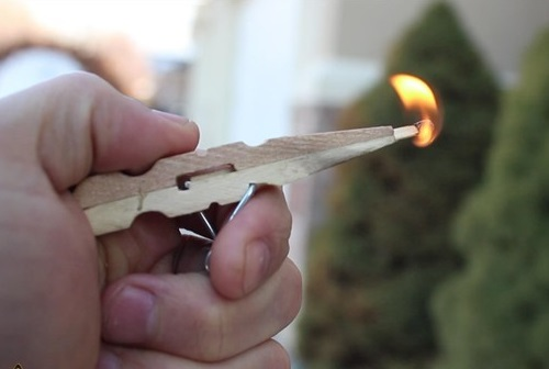 Clothespin Pocket Pistol