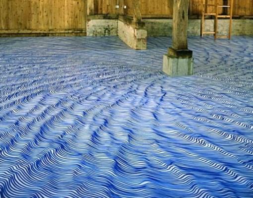Top 10 Amazing Marker Pen Art Works on Vinyl Floors