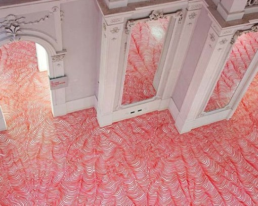 Top 10 Amazing Marker Pen Art Works on Vinyl Floors
