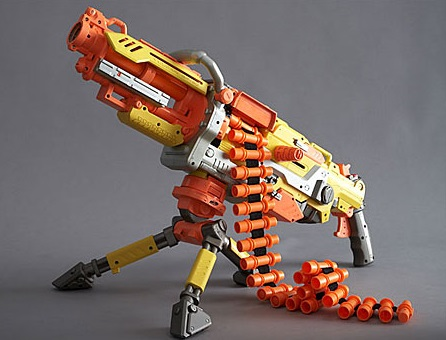 The Easiest Way to Paint a Steampunk Nerf Gun (No ...  |Nerf Guns Awesome Looking