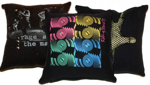 Cushions Made From old T-Shirts