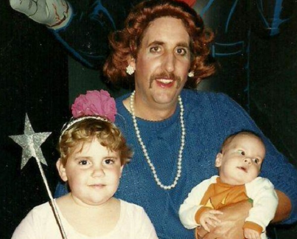 Awkward Family Halloween Photo