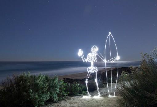 Top 10 Best Light Painted Skeletons