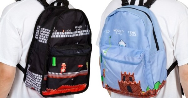 Super Mario reversible backpack
