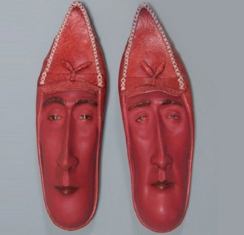 Ten Amazing Shoe Sculptures by Talented Artist Gwen Murphy