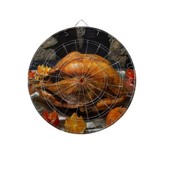 Christmas Turkey Dartboard