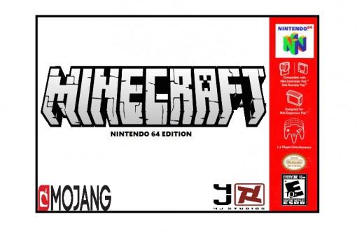 Minecraft Nintendo 64 Game